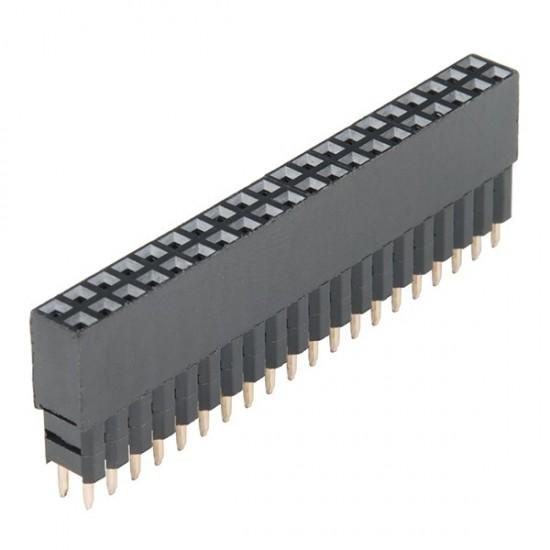 Connecteurs hauts 2x20 pour Raspberry Pi (GPIO) (PRT-14017)