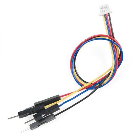 SparkFun Qwiic cable - Breadboard Jumper (4-pin)