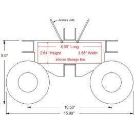 4WD Nomad™ robotics chassis