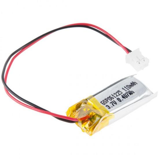 Batterie für E-Textilien – 110 mAh (2C Discharge)