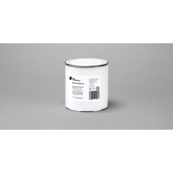 Peinture conductrice Bare Conductive (pot de 1l)
