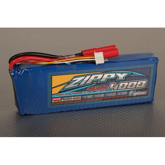 Batterie LiPo 3S 4000 mAh  11,1V 40C