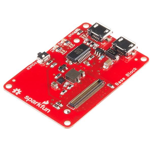 Base Block für das Intel Edison Board