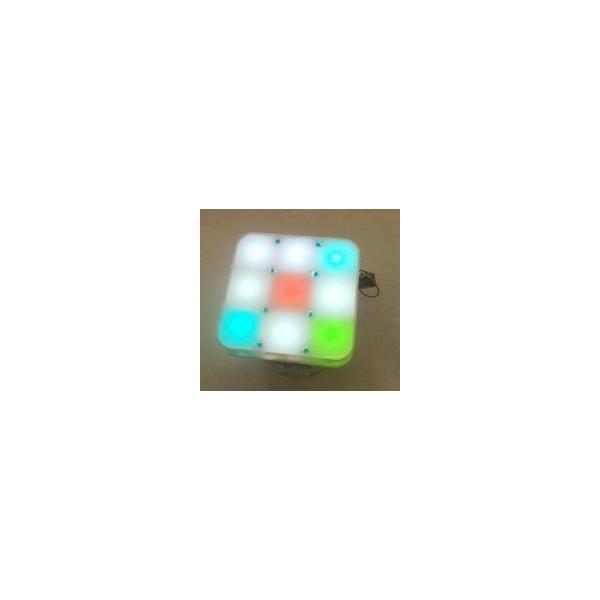 Anzeigeerweiterung 3 x 3 RGB für E-Puck Roboter