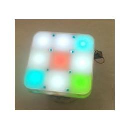 3x3 RGB display E-puck robot extension