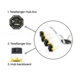 Hub Backboard + 20cm Cable