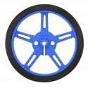 2 roues Pololu 60×8mm – bleu
