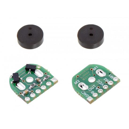 Paire d'encodeurs magnétiques pour micro-moteurs Pololu 12 CPR, 2.7-18V (compatible HPCB)