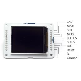 Ecran LCD TFT Arduino avec carte micro-SD