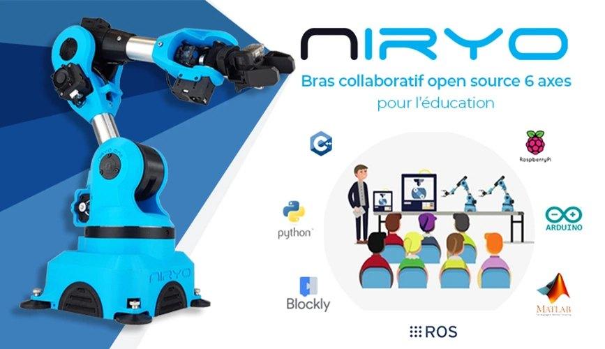 Bras robotique pour l'éducation Niryo