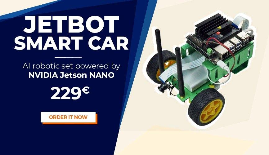 JetBot Smart Car NVIDIA Jetson