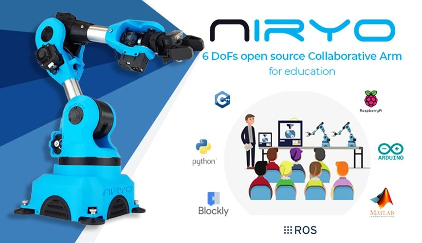 Niryo One Robotic Arm 6 DoFs