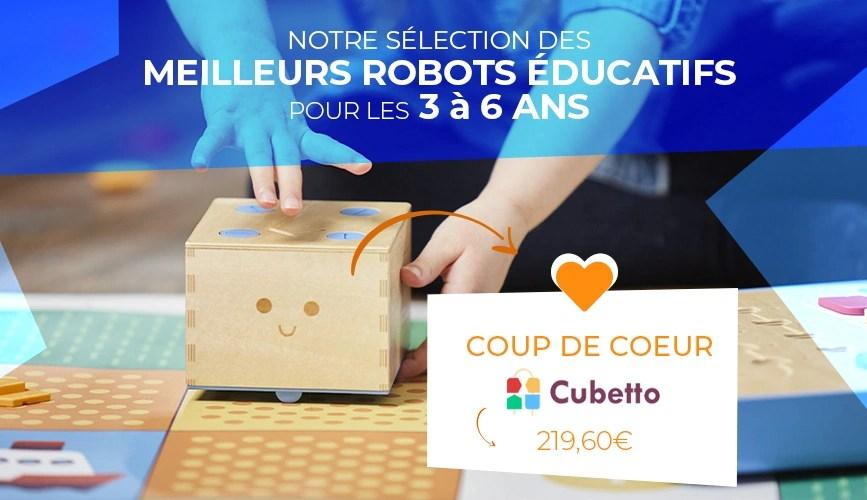 Robot éducatif pour le cycle 1 Cubetto