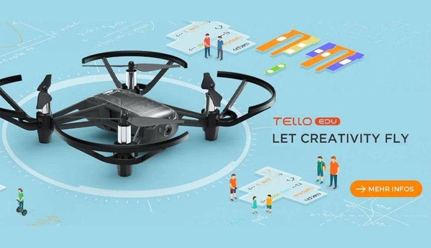 Drohne Tello Edu DJI für die Lehre