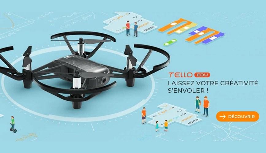Drone programmable DJI Tello Edu