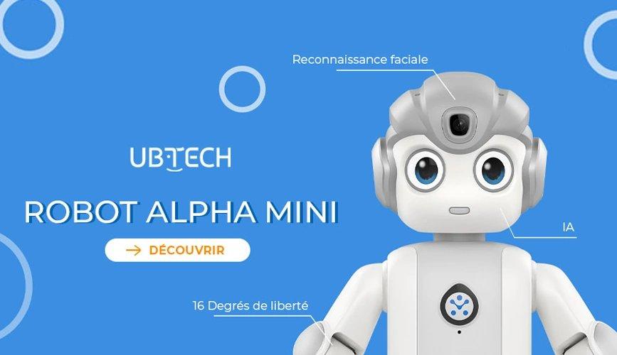 Robot humanoïde Alpha Mini