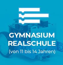 Sehen Sie die Roboter: Gymnasium und Realschule (von 11 bis 14 Jahren)