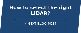 How to select the right LiDAR?