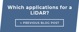 Which applications for a LiDAR?