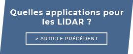Quelles applications pour les LiDAR ?