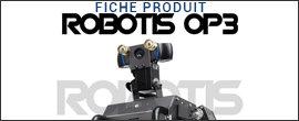 Robot humanoïde Robotis OP3