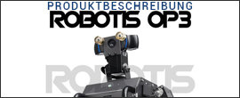 Humanoider Roboter Robotis OP3