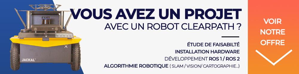 Banner - GRlab - Bureau d'étude et intégrateur en robotique mobile (robots mobiles Clearpath)