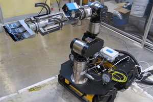 Serval robot for nuclear decommissioning