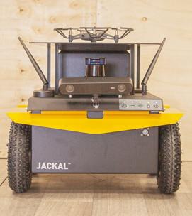 ROS-Integration und Entwicklung auf einer Jackal-Mobilbasis - GRLAB