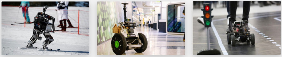 Examples of how to use the ZED 2 Stereolabs depth camera in robotics