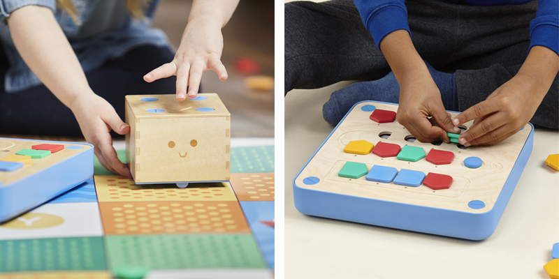 Robot éducatif Montessori Cubetto