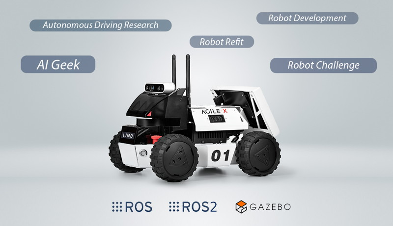 Different uses of the LIMO open-source mobile robot