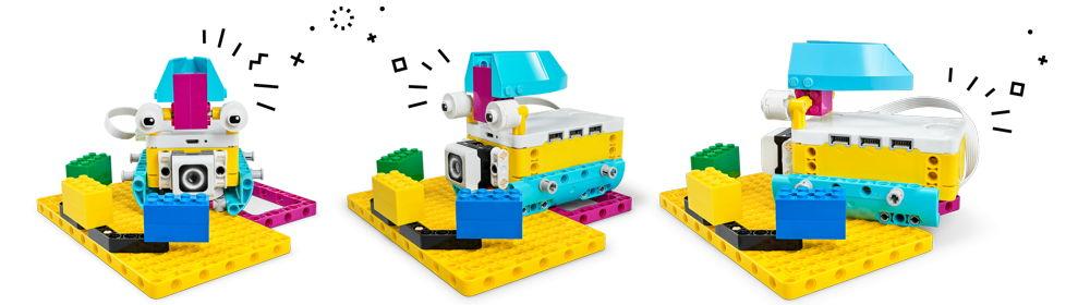 Leçon pour cycle 4 avec Lego Spike Prime