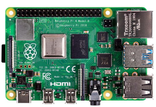 Vue d'ensemble de la carte Raspberry Pi 4