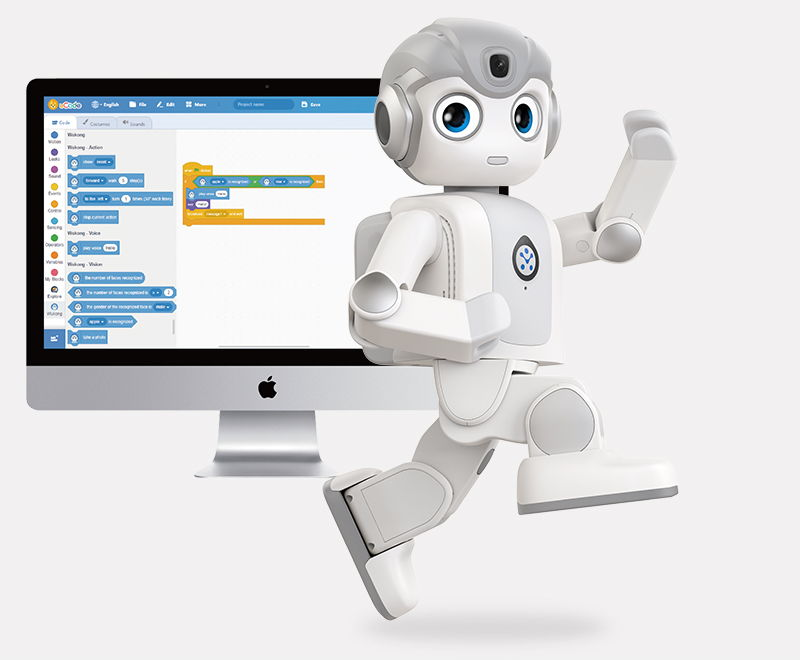 Alpha Mini educational humanoid robot by UBTECH