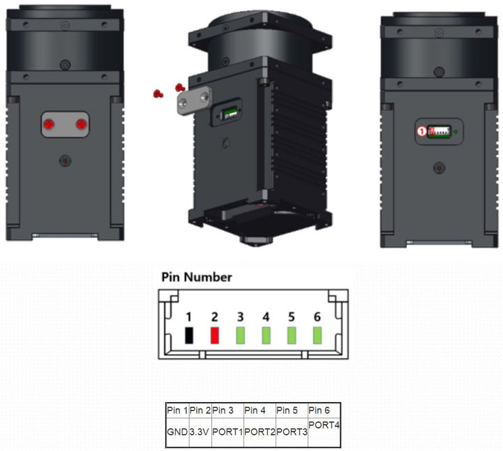 Dynamixel-P H54P-200-S500-R servomotor